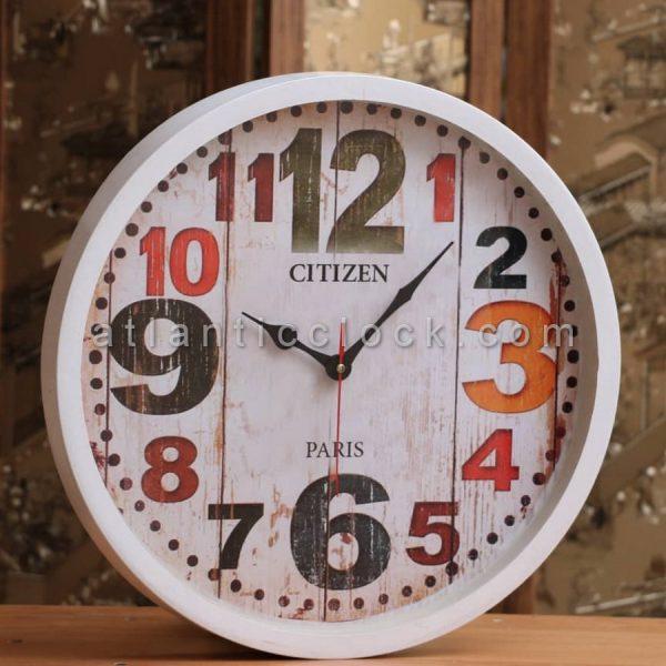 ساعت دیواری گرد بزرگ پاریس سایز 41