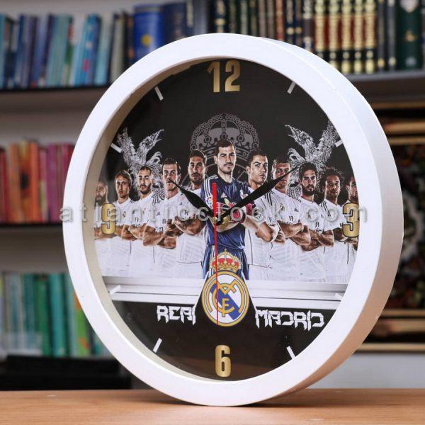 ساعت دیواری گرد رئال مادرید سایز 31
