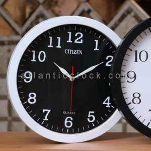ساعت دیواری گرد سیاه سایز 31