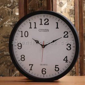 ساعت دیواری گرد مشکی سایز 41