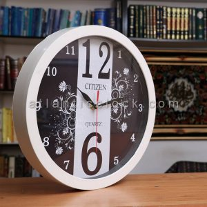 ساعت دیواری گرد نیلوفر سایز 41