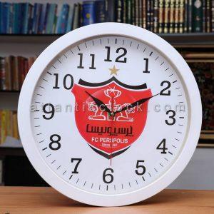 ساعت دیواری گرد پرسپولیس سایز 31