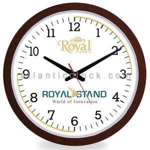 ساعت دیواری تبلیغاتی بازرگانی رویال سایز 31 گرد