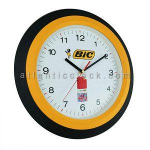 ساعت دیواری تبلیغاتی خودکار بیک سایز 31 گرد