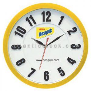 ساعت دیواری تبلیغاتی مواد غذایی Nesquik سایز 31 گرد
