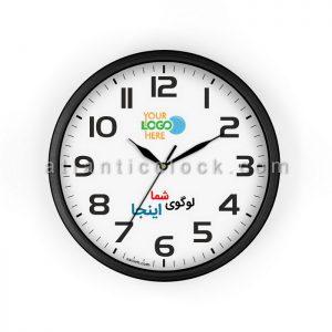 ساعت دیواری تبلیغاتی گرد سایز 31