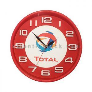 ساعت دیواری تبلیغاتی روغن توتال Total سایز 41 گرد