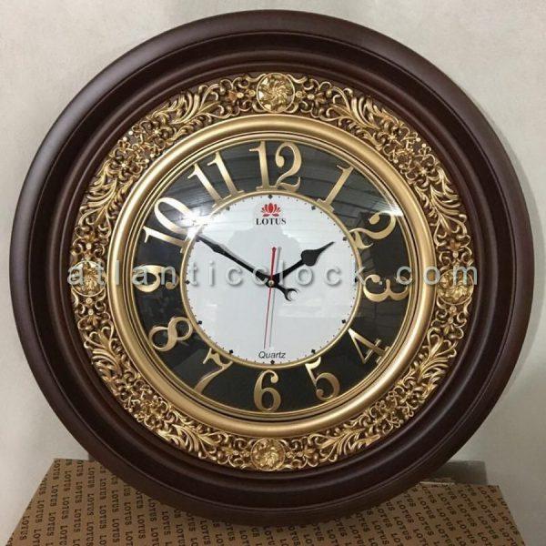 ساعت دیواری گرد بزرگ لوتوس سایز 70