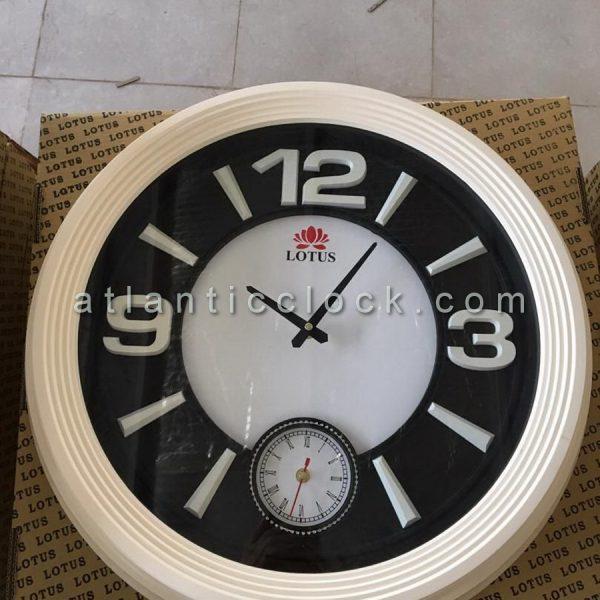 ساعت دیواری گرد لوتوس شماره رنگی سایز 60