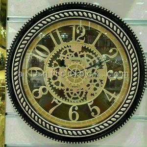 ساعت دیواری گرد مونیک چرخ دنده سایز 50