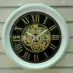 ساعت دیواری گرد مونیک 11 سفید سایز 50